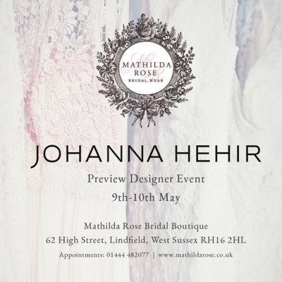 Johanna Hehir Preview Event!