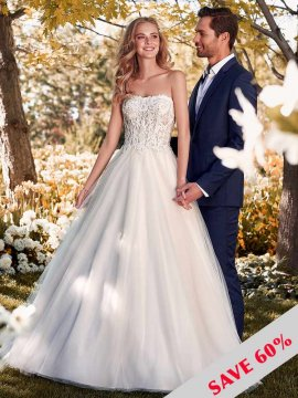 "Rebecca Ingram ""Lavonne"" Wedding Dress UK20"