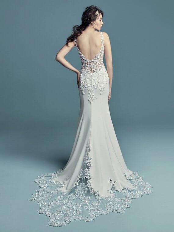 maggie sottero alaina cheap discounted sale wedding dress