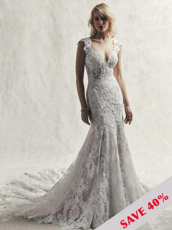 maggie sottero chauncey sample sale sussex brighton london wedding dress sale