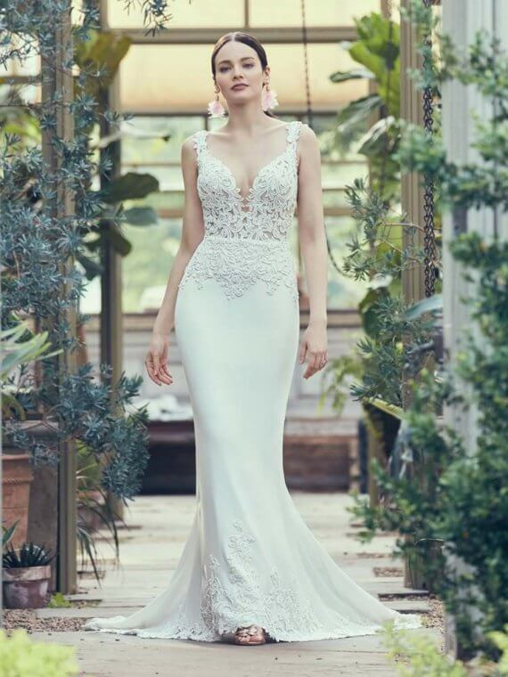 cheap discounted maggie sottero wedding dress sample sale