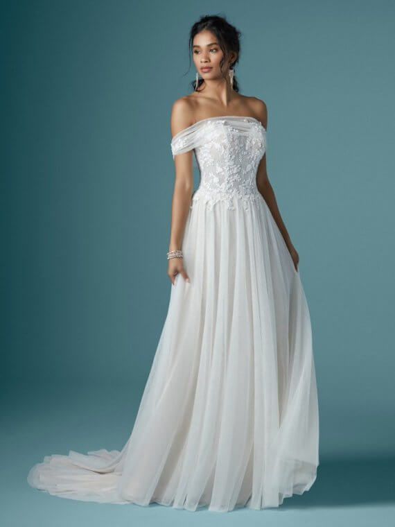 maggie sottero bargain cheap sample sale wedding dress