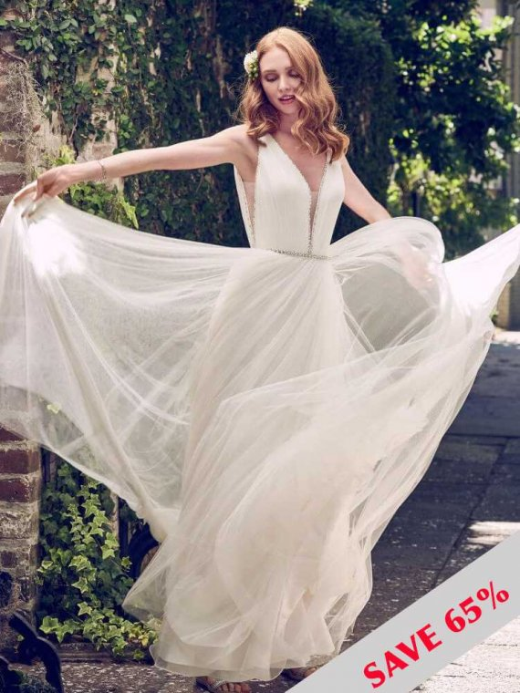 Maggie Sottero tamar wedding dress sample sale