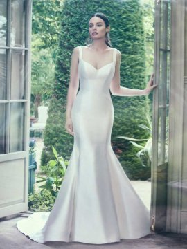 """Maggie Sottero """"Teagan"""" Wedding Dress UK8"""