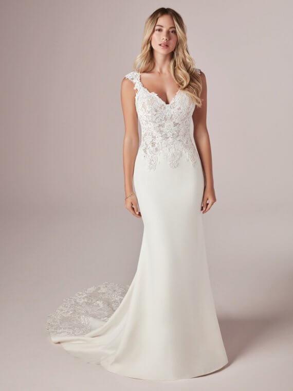 rebecca ingram amy cheap sample sale wedding dress