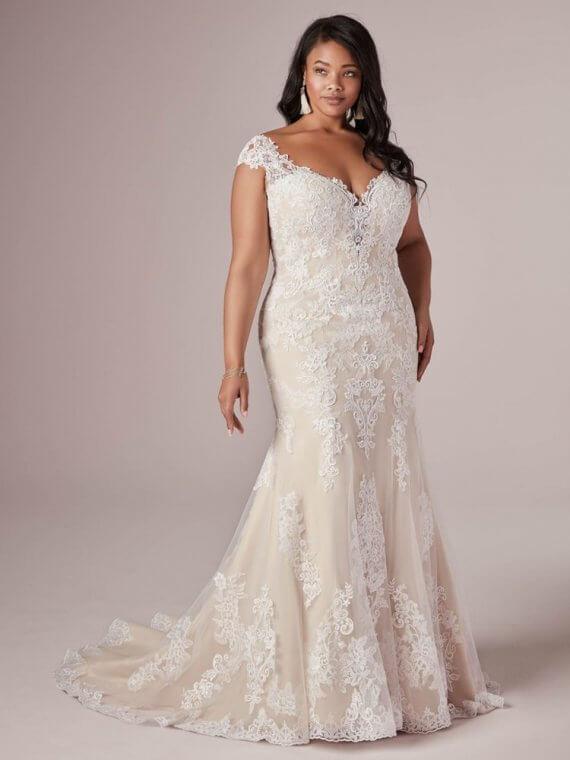 cheap bargain discount rebecca ingram sample sale wedding dress