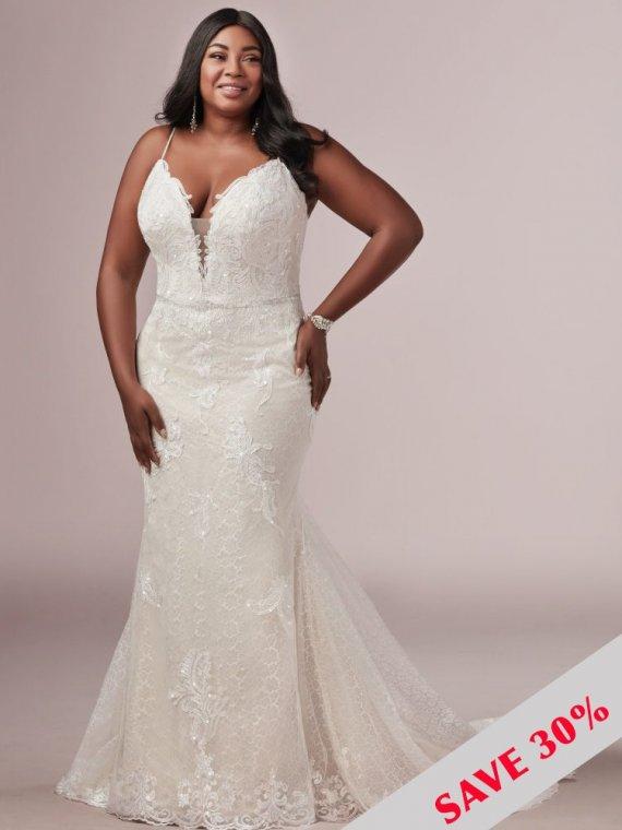 rebecca ingram laurette lynette wedding dress sample sale