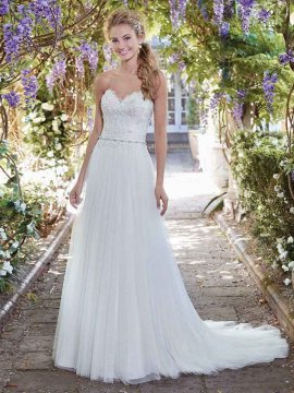 "Rebecca Ingram ""Faye"" Wedding Dress UK14"