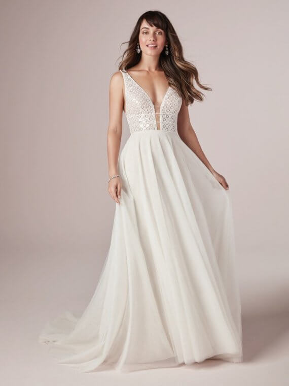 rebecca ingram meadow sample sale discount cheap wedding dress