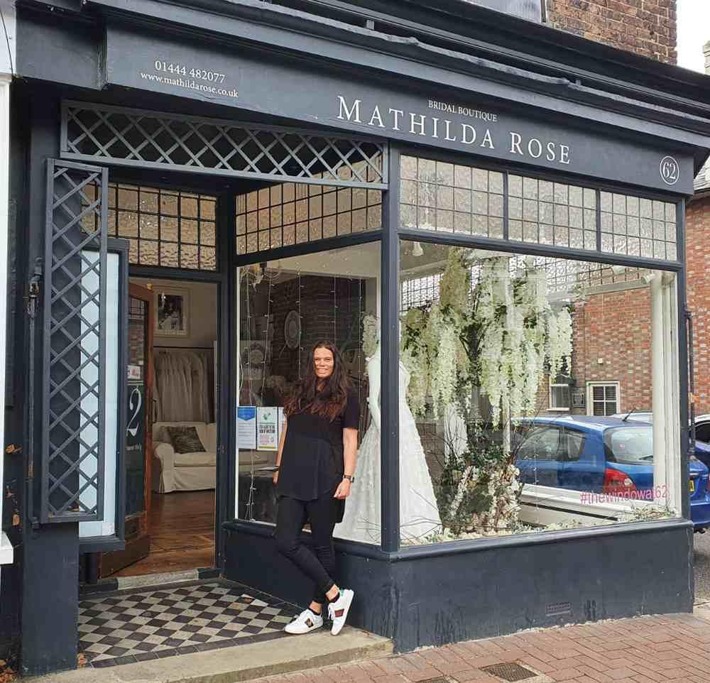 mathilda rose lindfield wedding dress shop sussex