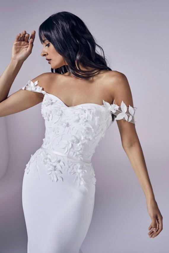 suzanne neville romance sample wedding dress