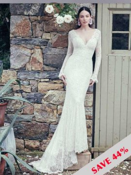 "Maggie Sottero ""Antonia"" Wedding Dress UK8"