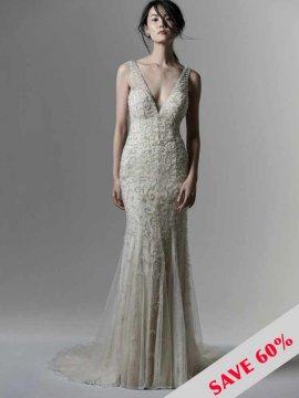 """Sottero & Midgley """"Bentley"""" Wedding Dress UK12"""