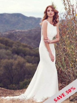 "Maggie Sottero ""Evangelina"" Wedding Dress UK12"