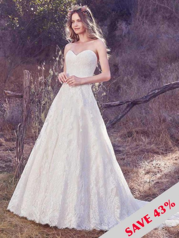 SOTTERO AND MIDGLEY MAGGIE SOTTERO WEDDING DRESS SAMPLE SALE OLEA