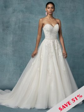 "Maggie Sottero ""Sakura"" Wedding Dress UK14"
