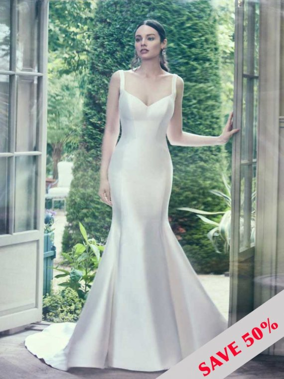 maggie sottero reagan wedding dress sample sale
