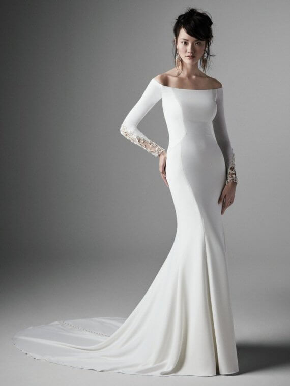 Sottero and Midgley admina cheap sample sale wedding dress