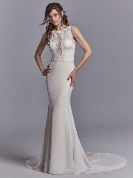 "Sottero & Midgley ""Barrington"" Wedding Dress UK12"