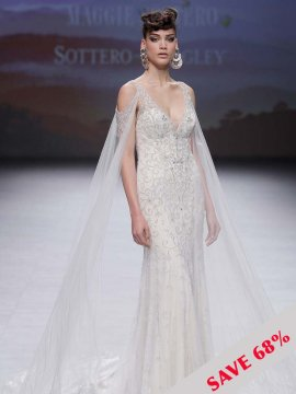 "Sottero & Midgley ""Bentley"" Wedding Dress UK12"
