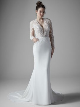 "Sottero & Midgley ""Burton Dawn"" Wedding Dress UK14"