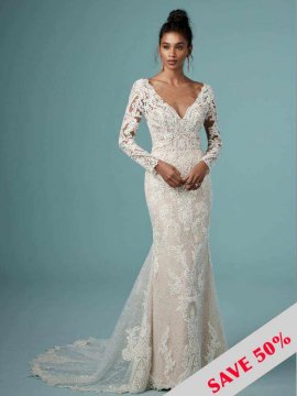"Rebecca Ingram ""Cheyenne"" Wedding Dress UK14"