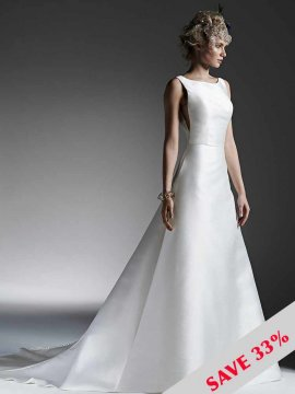 "Sottero & Midgley ""McCall"" Wedding Dress UK12"