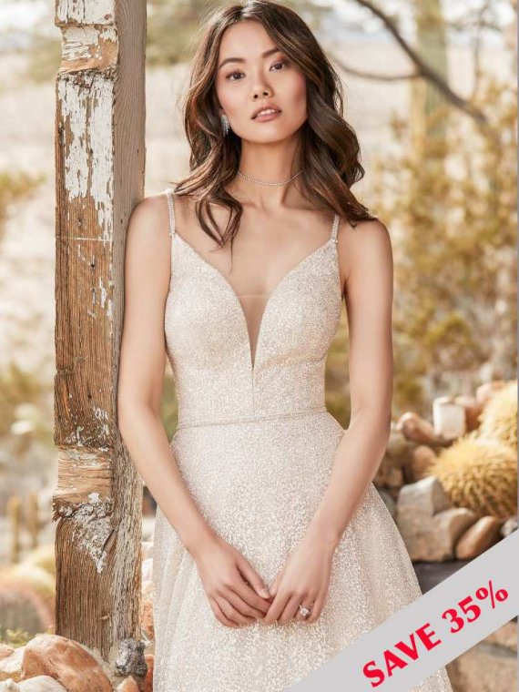 sussex brighton sample sale maggie sottero milo wedding dress