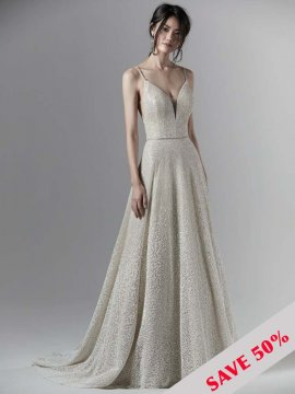 "Sottero & Midgley ""Milo"" Wedding Dress UK12"