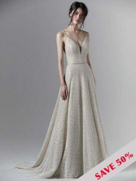 """Sottero & Midgley """"Milo"""" Wedding Dress UK12"""