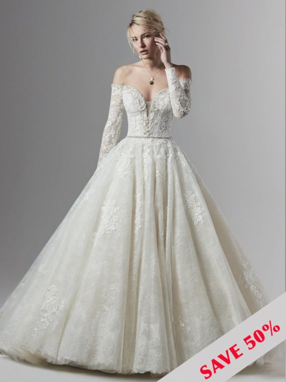 sottero and midgley maggie porter marie sample wedding dress sale