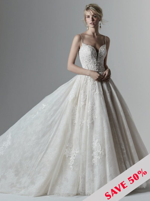 sottero and midgley maggie porter wedding dress sample sale