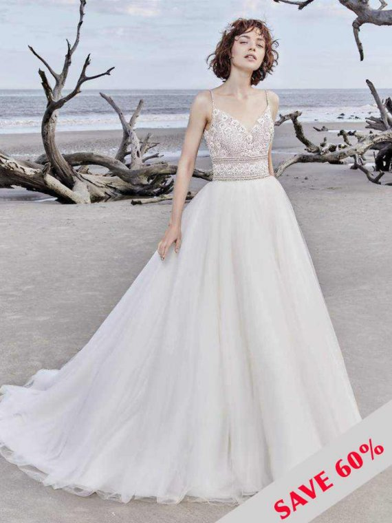 sottero and midgley saylor rose wedding dress sample sale