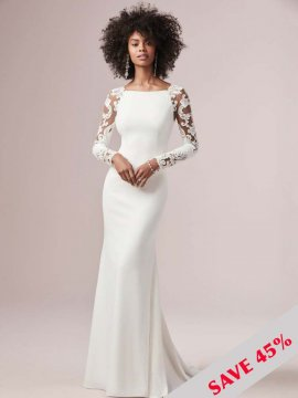 "Rebecca Ingram ""Bethany"" Wedding Dress UK12"