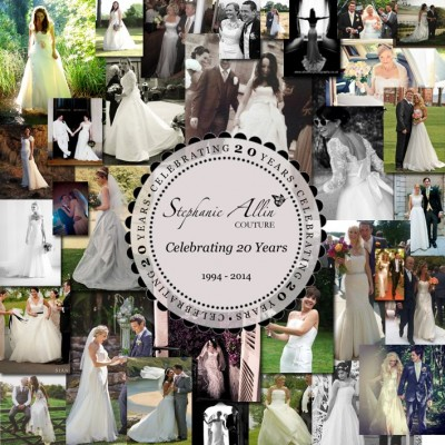 Stephanie Allin Couture is celebrating 20 years!