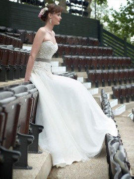 "Stephanie Allin ""Masquarade"" Wedding Dress UK14"