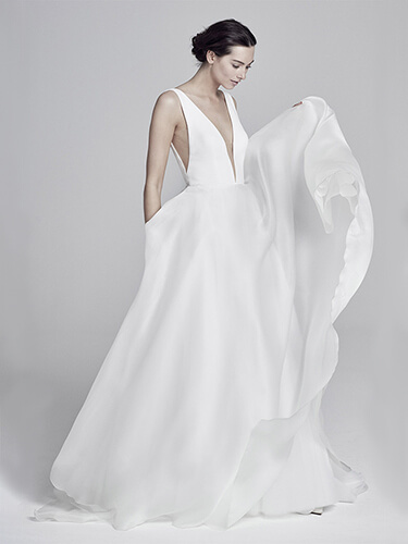 Suzanne Neville Wedding Dress Serrano sale