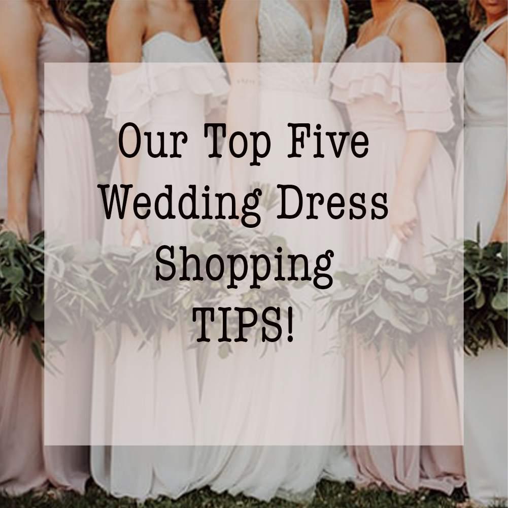 Mathilda Rose wedding dress shop sussex top tips for wedding dress shopping